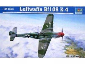 Trumpeter 02418 Luftwaffe Bf109 K-4 (1:24)
