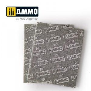 Ammo of Mig 8555 Sanding Sponge Sheet 100 gąbka ścierna
