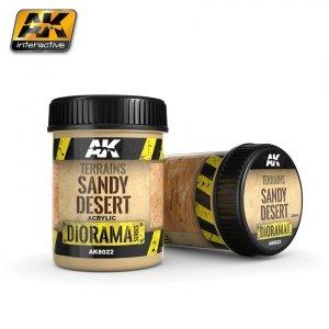 AK Interactive AK 8022 Terrains Sandy Desert 250ML