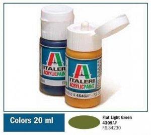 Italeri 4309 FLAT LIGHT GREEN 20ml