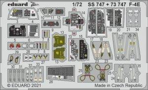 Eduard SS747 F-4E FINE MOLDS 1/72