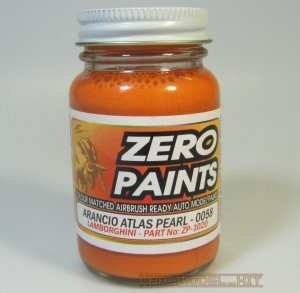 Zero Paints ZP-1020-Lamborghini Aventador - Arancio Atlas Pearl 0058 60ML