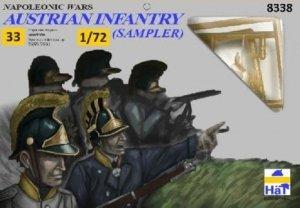 Hat 8338 Napoleonic Austrian Infantry Sampler 1/72