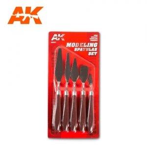 AK Interactive AK 9051 MODELING SPATULAS SET