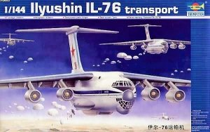 Trumpeter 03901 Ilyushin IL-76 Transport (1:144)