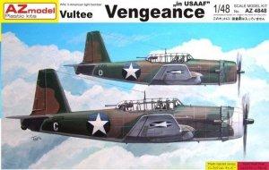 AZ Model AZ4848 Vultee Vengeance in USAAF (1:48)