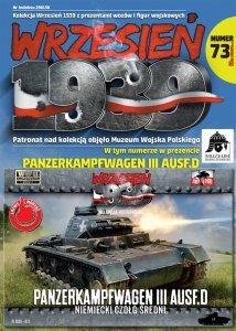 First to Fight PL073 Panzerkampfwagen III Ausf. D. Niemiecki czołg średni 1/72