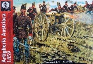 Waterloo 1815 AP018 Artigliera Austriaca 1859 (1:72)