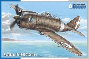 Special Hobby 48204 Reggiane Re 2000 serie I 1/48