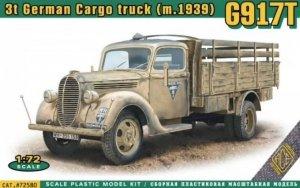 ACE 72580 3t German Cargo Truck (m.1939) G917T 1/72