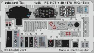 Eduard FE1178 MiG-15bis BRONCO / HOBBY 2000 1/48