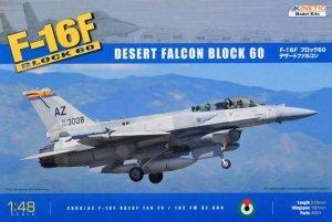Kinetic K48008 F-16F (Block 60) Desert Falcon (1:48)