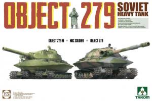 Takom 5005 Soviet Heavy Tank Object 279 Object 279M + NBC Soldier + Object 279 1/72