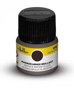 Heller 9010 010 Service Brown - Gloss 12ml