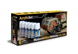 Italeri 442AP Modern Military Vehicles US Army/NATO 6x20ml