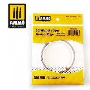 AMMO of Mig Jimenez 8246 Scribing Tape - Straight Edge (5mm x 3M)