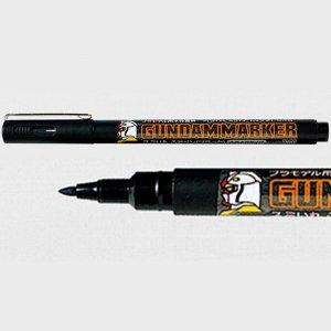 Gunze Sangyo GM20 Brush Type Black Gundam Marker