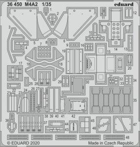 Eduard 36450 M4A2 1/35 ZVEZDA