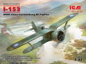ICM 32012 I-153, WWII China Guomindang AF Fighter 1/32