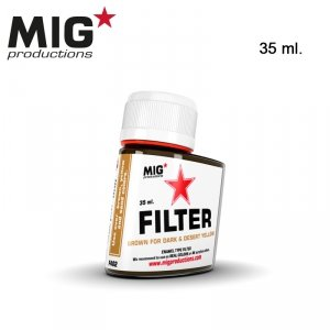 Mig Productions F402 BROWN FOR DESERT YELLOW 35ml