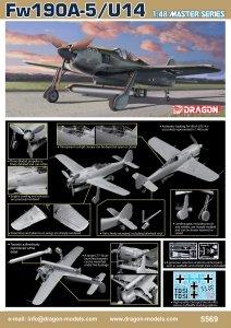 Dragon 5569 Fw190A5/U-14 1/48