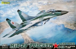 Great Wall Hobby L4811 MiG-29 Fulcrum LATE TYPE 9-12 (1:48)