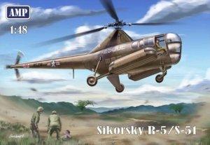 AMP 48002 Sikorsky R-5/S-51 1/48