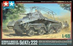Tamiya 32574 German Sd.Kfz. 232 Heavy 8-wheeled armored car (1:48)