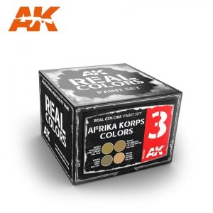 AK Interactive RCS003 AFRIKA KORPS COLORS SET (4x10ml)