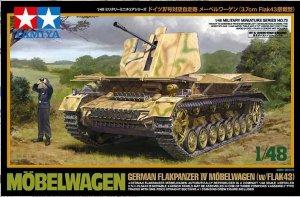 Tamiya 32573 Flakpanzer Mobelwagen With 3.7cm FlaK 43 (1:48)