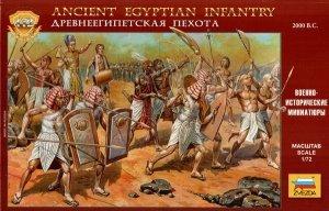 Zvezda 8051 EGYPTIAN INFANTRY 1/72