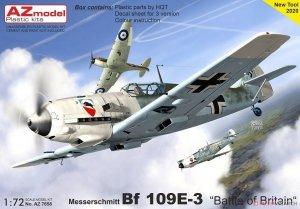AZ Model AZ7658 Messerschmitt Bf 109 E-3 Battle of Britain 1/72