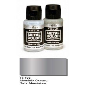 Vallejo 77703 Metal Color- Dark Aluminium 32ml