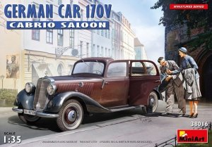 MiniArt 38016 GERMAN CAR 170V CABRIO SALOON 1/35