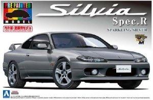 Aoshima 00864 S15 Silvia Spec.R - Silver 1:24