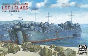 AFV Club SE73515 US NAVY TYPE 2 LSTs LST-1 CLASS 1/350