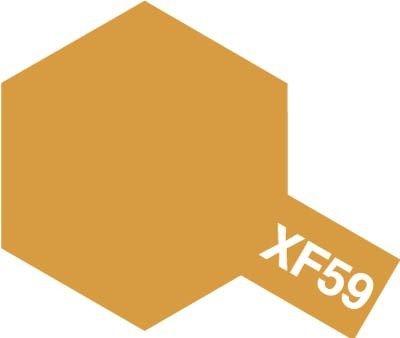 Tamiya XF59 Desert Yellow (81759) Acrylic paint