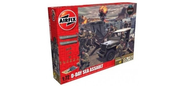 Airfix 50156A 75th Anniversary D-Day Sea Assault Set 1/76