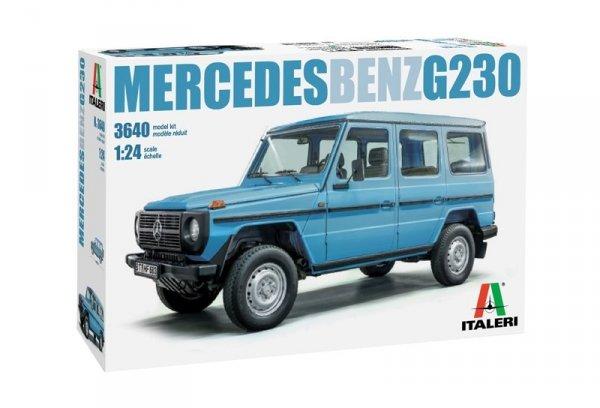 Italeri 3640 MERCEDES BENZ G230 1/24