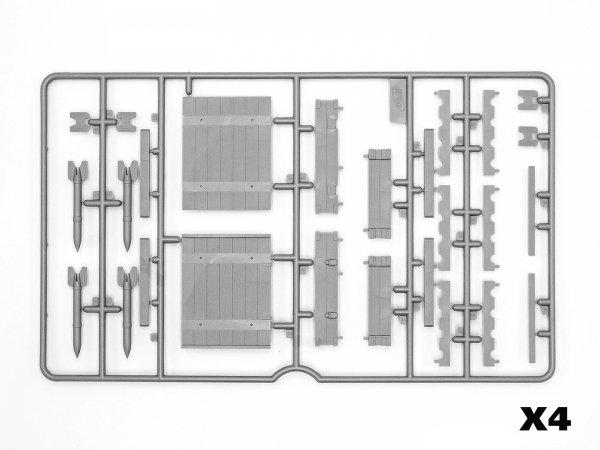 ICM 35795 RS-132 Ammunition Boxes 1/35