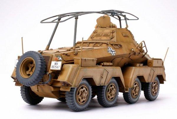 "Tamiya 35297 German 8-Wheeled Heavy Armored Car Sd.Kfz.232 ""Africa-Corps"" (1:35)"