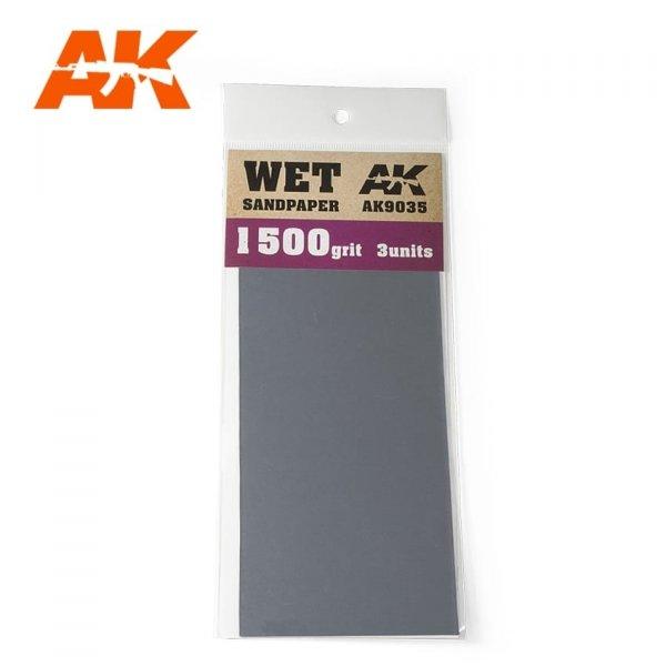 AK Interactive AK 9035 WET SANDPAPER 1500