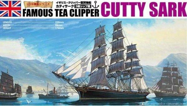 Aoshima 04110 Famous Tea Clipper Cutty Sark 1/350