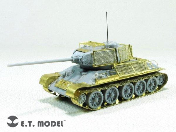E.T. Model E72-035 WWII Soviet T-34/85 For DRAGON 1/72