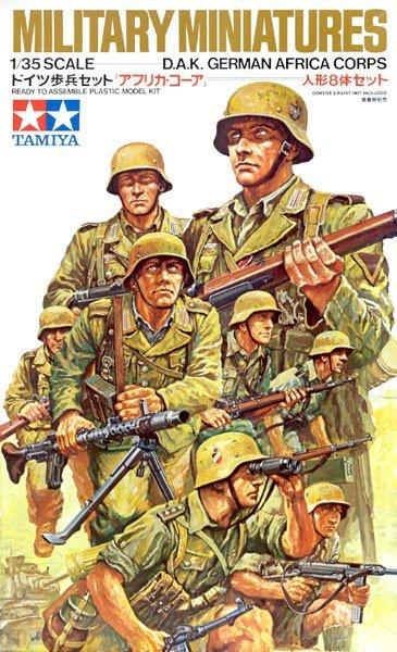 Tamiya 35037 DAK Ger Af Corps (1:35)