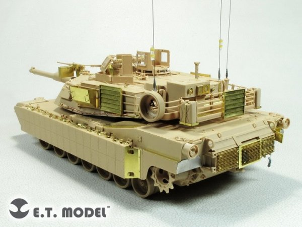 E.T. Model E35-284 USMC M1A1 AIM MBT/U.S.ARMY M1A1 Tusk MBT (For Meng TS-032) 1/35