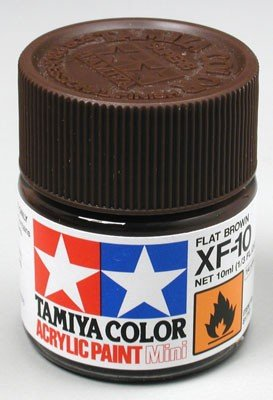 Tamiya XF10 Flat Brown (81710) Acrylic paint 10ml