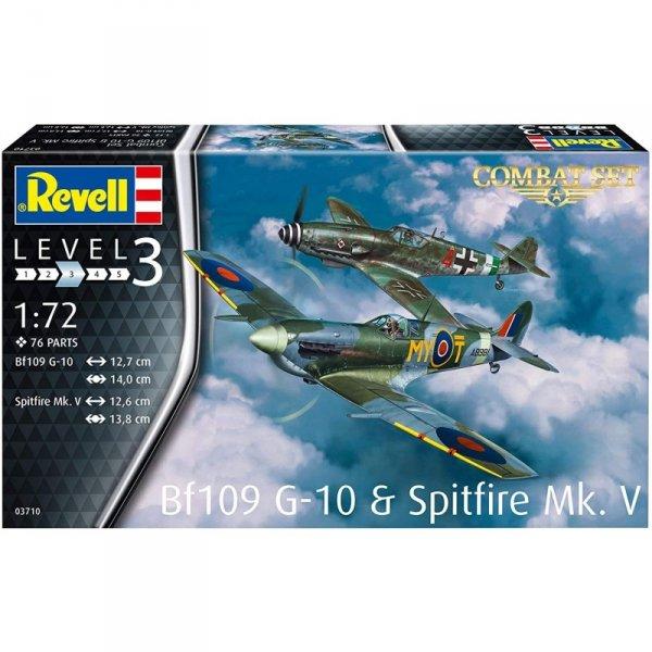Revell 03710 BF109G-10 & Spitfire MK.V 1/72