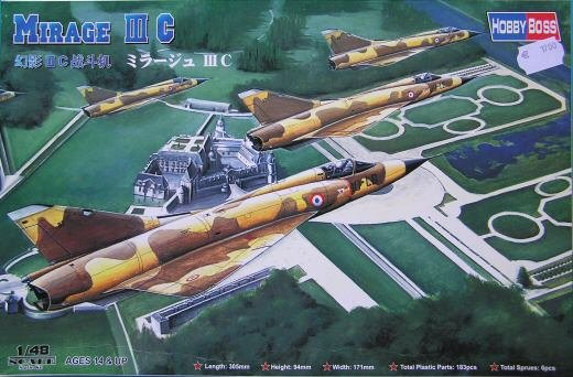 Hobby Boss 80315 Dassault Mirage IIIC Fighter (1:48)