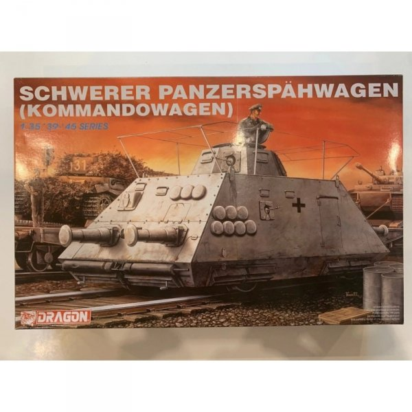 Dragon 6071 Schwerer Panzerspähwagen (Kommandowagen) 1/35